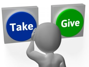 Give and Take- Stuart Miles- Freedigitalphotos.net